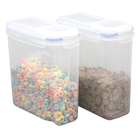 Mini Spout Lid (Small BPA-Free Plastic Food Containers with Airtight Spout Lid, Set of)