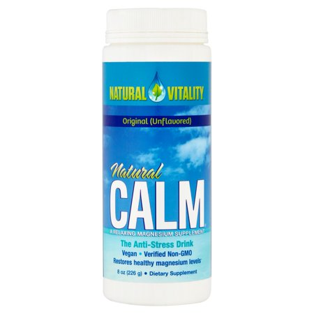 Natural Vitality Natural Calm Magnesium Dietary Supplement  8 Oz