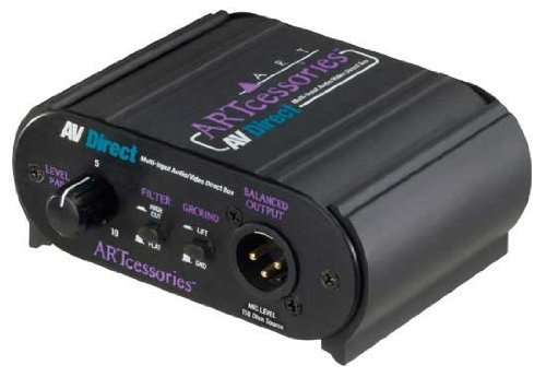 ART Multi-Input Audio Video Direct Box by ART Yorkville