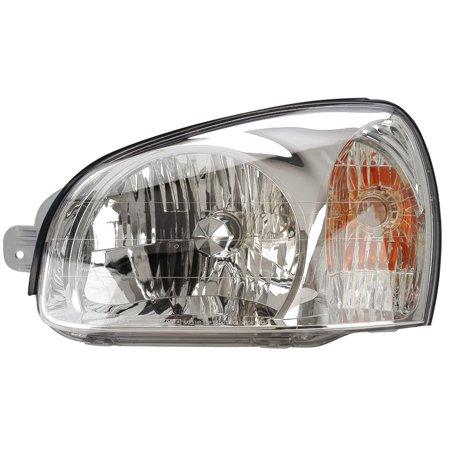 2003 Hyundai Santa Fe New Driver Side Halogen Headlight Hy2502129