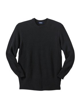 Kingsize Men's Big & Tall Knit Crewneck Sweater