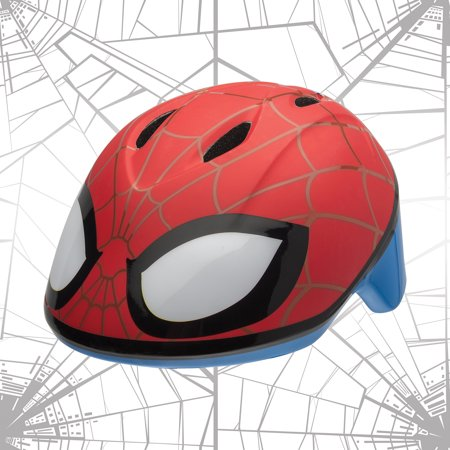 Bell Marvel Spider-Man Spidey Eyes Bike Helmet, Red, Toddler 3+ (Best Road Bike Helmet Under 100)