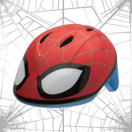 Bell Marvel Spider-Man Spidey Eyes Bike Helmet, Red, Toddler 3+ (48-52cm)