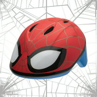 Marvel Spider-Man Spidey Eyes Bell Bike Helmet, Red, Toddler 3+ (48-52cm)
