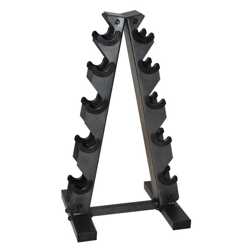 CAP Barbell Black A Frame Dumbbell Rack by Cap Barbell