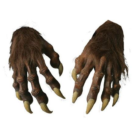 Werewolf Halloween Hands - Werewolf Hands