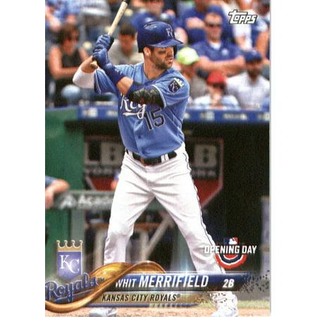 2018 Topps Opening Day 192 Whit Merrifield Kansas City Royals Baseball Card Walmartcom