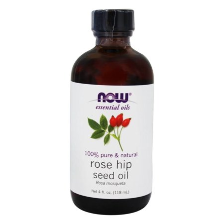 NOW Foods - 100% Pure Essential Oil Rose Hip Seed Oil - 4 oz.