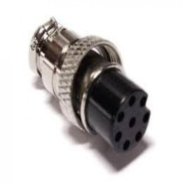 8 Pin CB/Ham Radio Female Microphone Plug