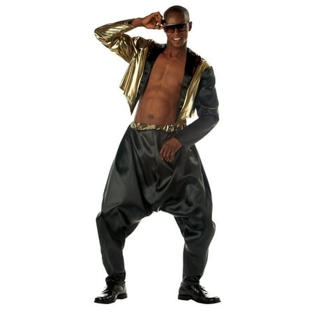 Mens Old School Rapper Halloween Costume