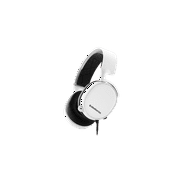 SteelSeries Arctis 3 - All-Platform Gaming Headset - For PC, PS4, Xbox One, Nintendo Switch, VR, Android, iOS - White