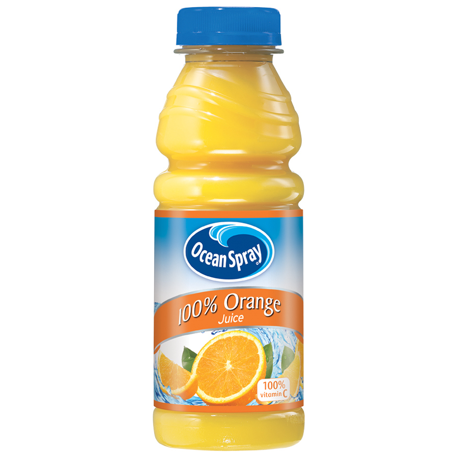 Ocean Spray�� 100% Orange Juice 15.2 fl. oz. Bottle