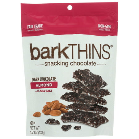 barkTHINS Almond with Sea Salt Dark Chocolate - 4.7oz