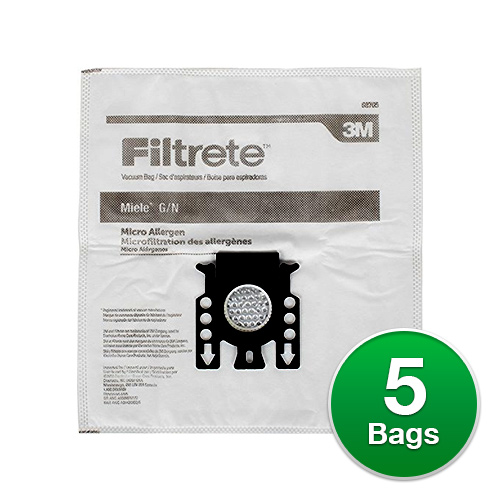 Filtrete Type G/N Vacuum Bag for Miele 68705 (Single Pack)