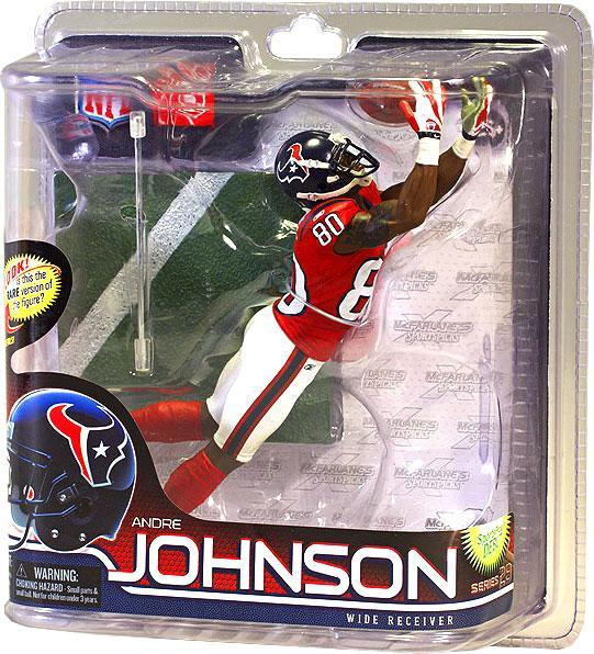 McFarlane NFL Sports Picks Series 28 Andre Johnson Action Figure [Red Jersey]
