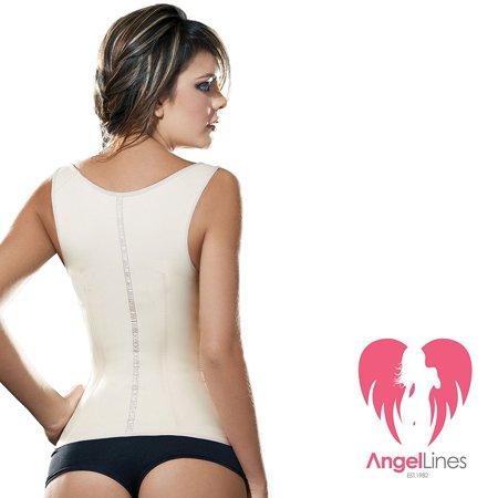 c55eed4a9a9 Angel Lines - Angel Lines Waist Trainer Corset - Shape Compression Vest for Slim  Body - Beige-M - Walmart.com