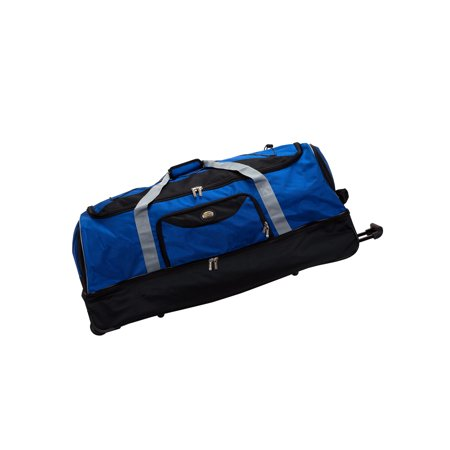 Rockland Luggage 40 Drop Bottom Rolling Duffel Bag,