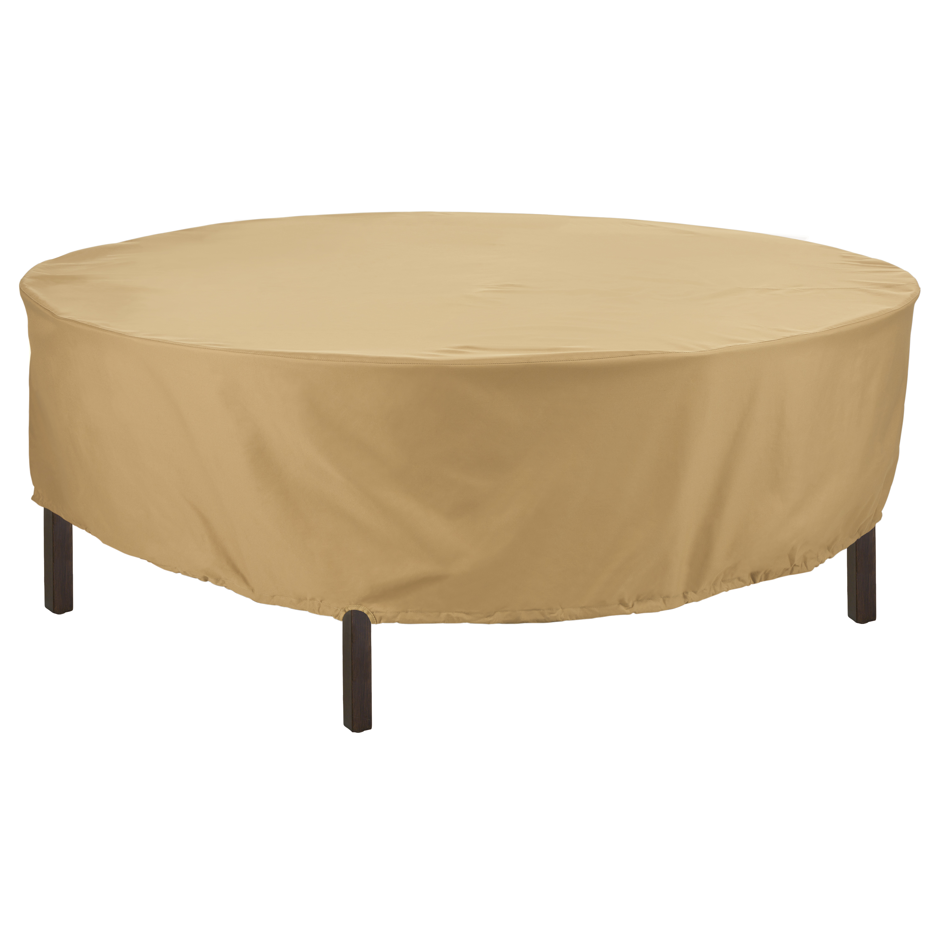 225 & Classic Accessories Terrazzo® Round Table Cover Patio - All Weather Protection Outdoor Furniture Cover 94\