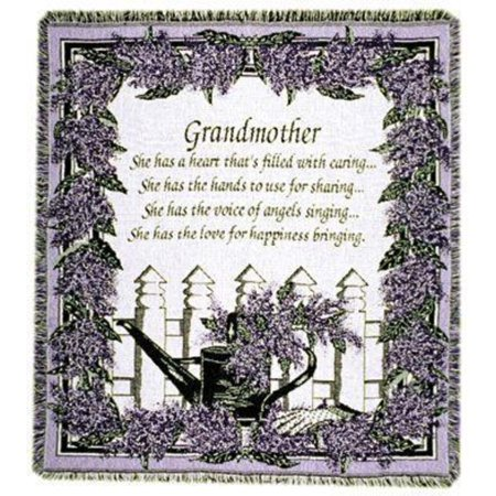 Grandmother Poem Afghan Throw Blanket 40 X 40 Walmart Classy Grandmother Throw Blanket