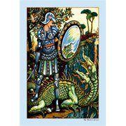Buy Enlarge 0-587-09802-3P20x30 Prince Cheri and the Dragon- Paper Size P20x30