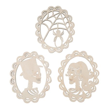 Do It Yourself Wood Skeleton Silhouettes (3Pc) - Craft Kits - 3 Pieces