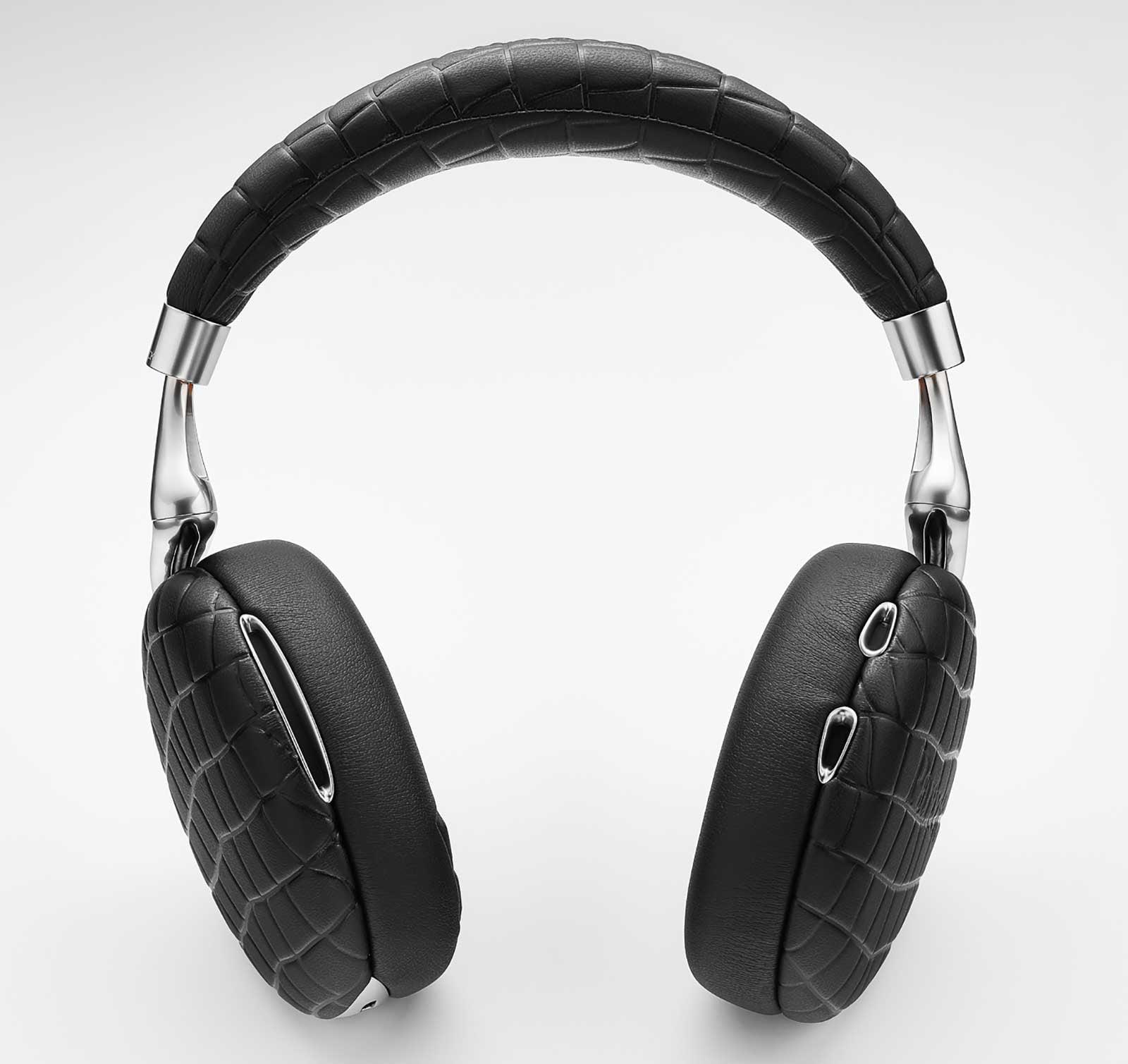 Parrot PF562000 Zik 3 Headphones, Black Croc