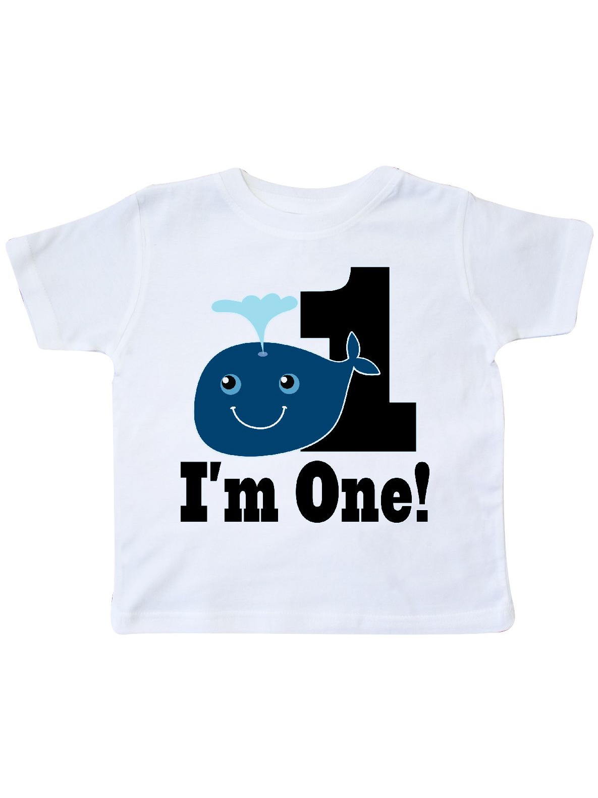 1st Birthday Boy Whale One Year Old Toddler T-Shirt