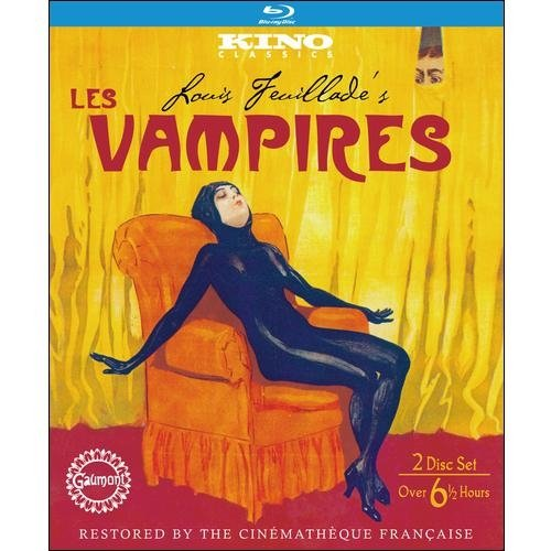Les Vampires (Silent) (French) (Blu-ray) (Full Frame)