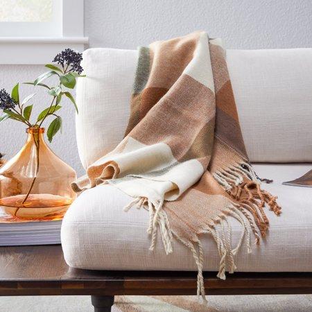 Belham Living Wool Decorative Throw Blanket, 50
