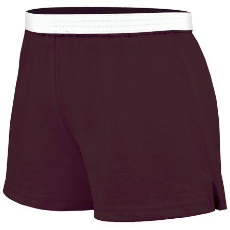 Practice Knit Cheerleading Shorts Brown Small Size -