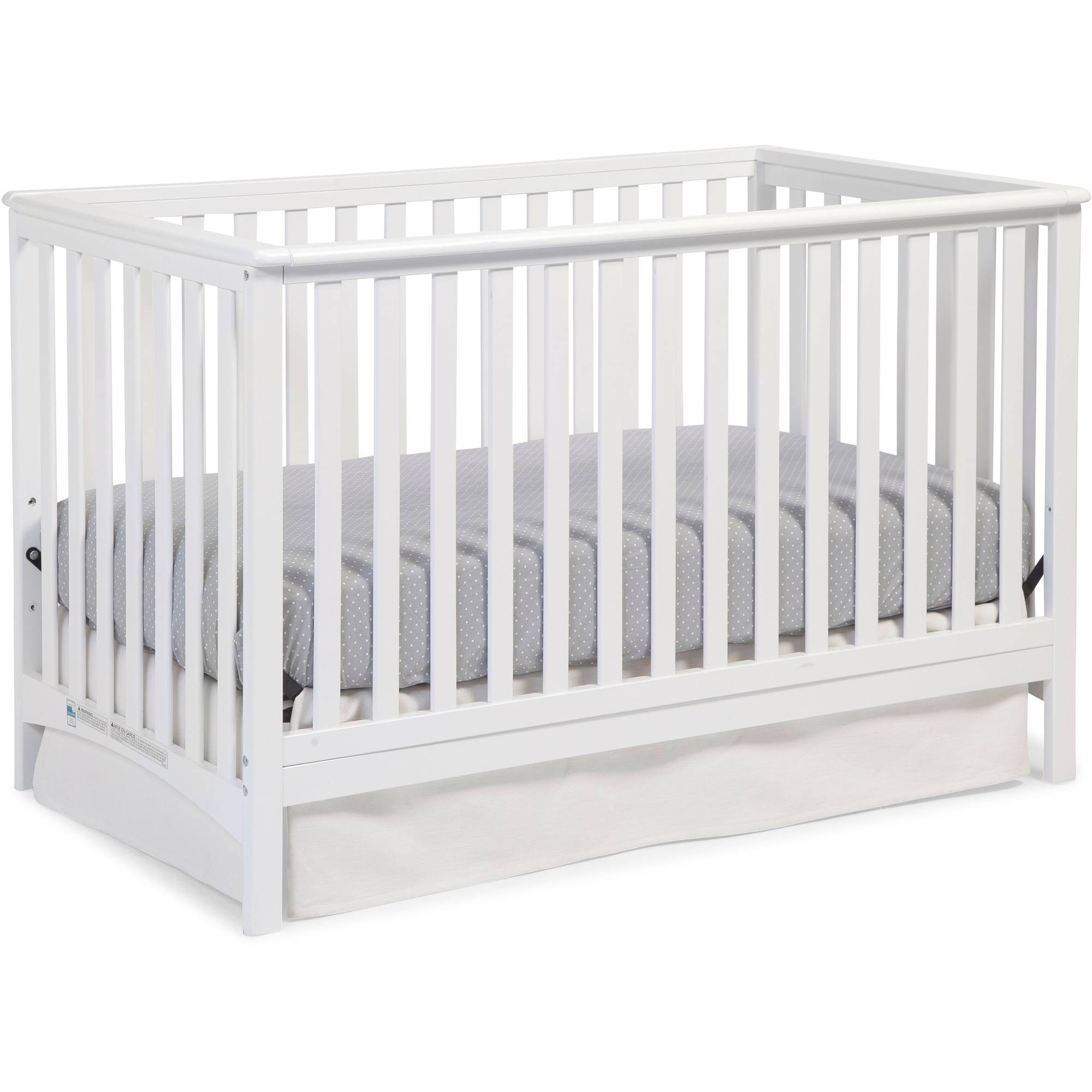 Storkcraft Hillcrest 4 in 1 Convertible Crib White