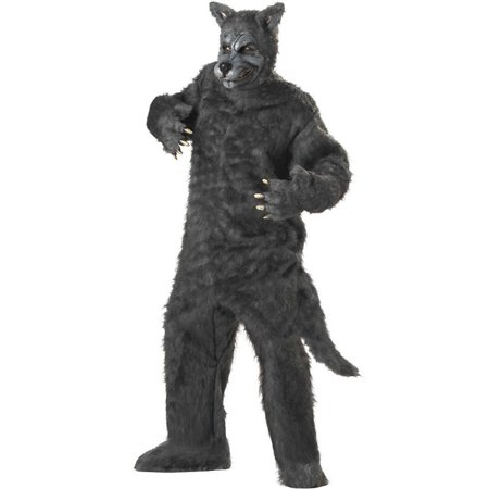Adult Deluxe Big Bad Wolf Costume California Costumes 1011 - Plus Size Big Bad Wolf Costume