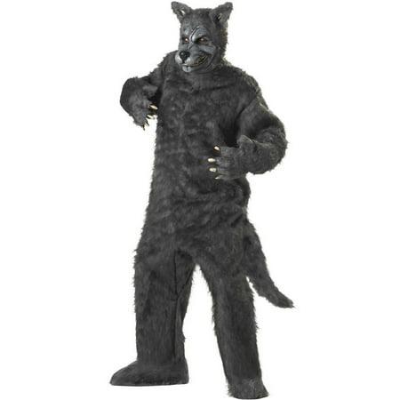 Adult Deluxe Big Bad Wolf Costume California Costumes 1011 - Halloween Costumes Big Bad Wolf