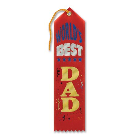 World's Best Dad Award Ribbon (Pack of 6) - image 1 of 1