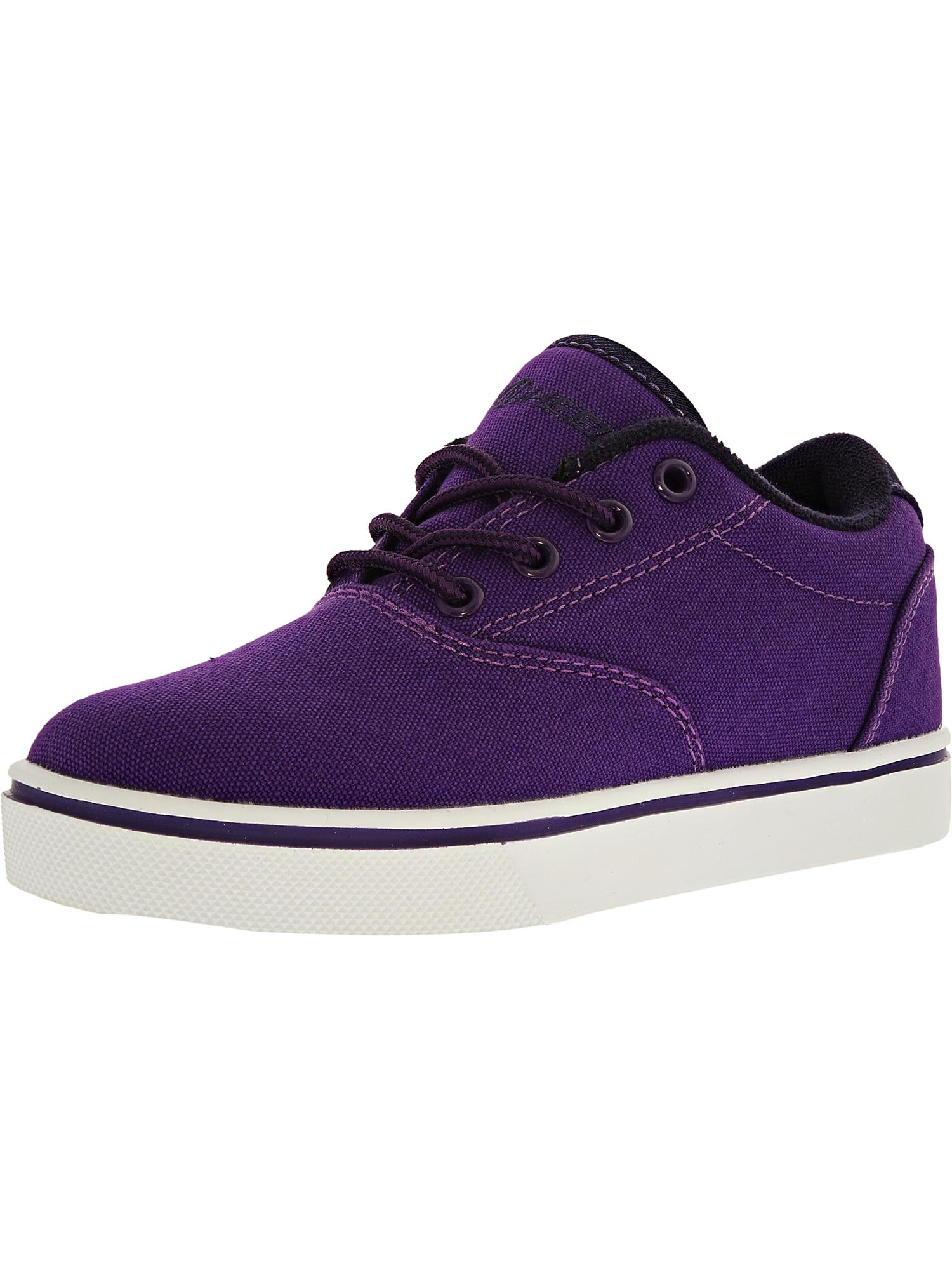 Heelys Launch Purple/Grape/White Ankle-High Fashion Sneaker - 2M