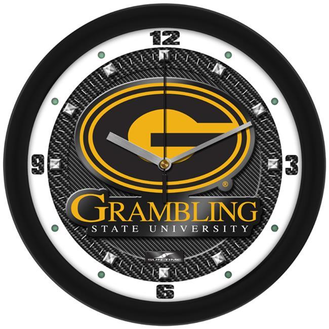 SunTime Central Florida Knights Carbon Fiber Textured Wall Clock