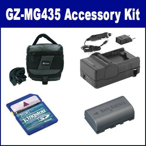 JVC Everio GZ-MG435 Camcorder Accessory Kit includes: SDM...