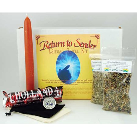Type 0 Negative Halloween (Party Games Accessories Halloween Séance Boxed Magic Spell Kit Return To Sender Send Back Negative)