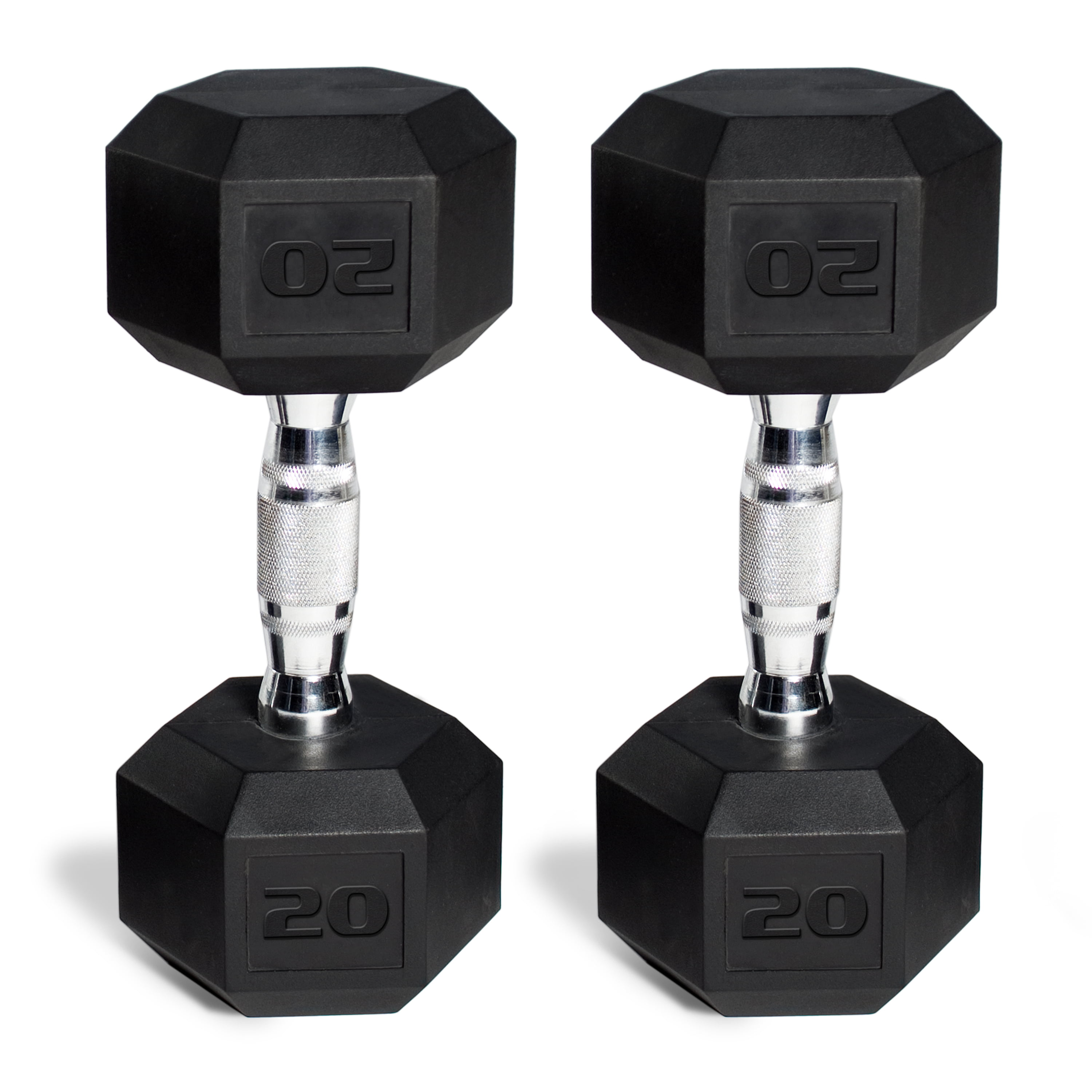30 pounds 1 Pair Weight Loss Workout Bench Gym Equipment Barbell Coated Hex Dumbbell Weights,Barbell Set of 2 Hex Rubber Dumbbell with Metal Handles Pair of 2 Heavy Dumbbell Or Strength Training