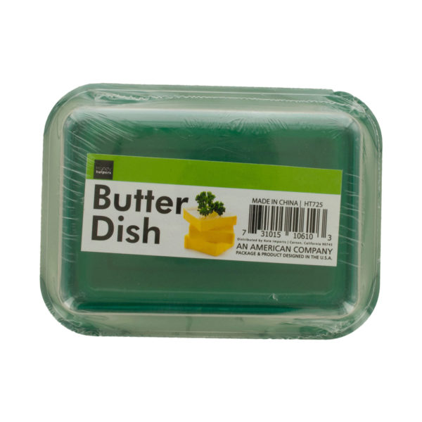 Covered Butter Dish (Pack Of 12)