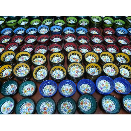LAMINATED POSTER Shells Nuancerich Colorful Pottery Blue Color Poster Print 24 x 36