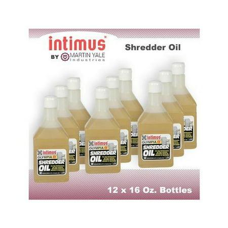 INTIMUS MYIOIL INTIMUS 9999943 LUBRCANT - 1-16OZ BTL SHREDDER OIL