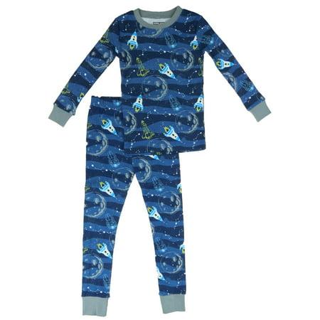 Kirkland Signature - Kirkland Signature Boys 2-Piece Organic Cotton Pajama  Set (Space d38183b40