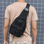 AGPtek Outdoor Tactical Shoulder Backpack Military & Sport Bag Pack Daypack for Camping/Hiking/Trekking Black