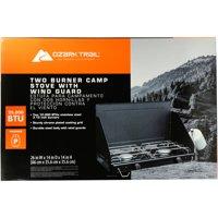 Ozark Trail 2 Burner Camp Stove, 20,000 BTU