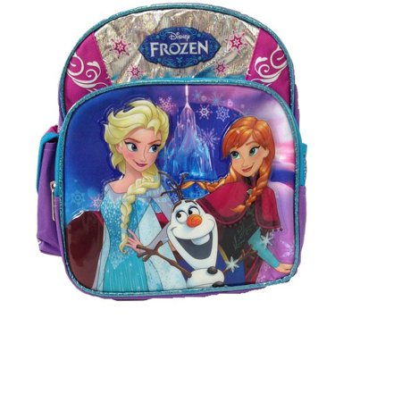 7b307cf1290 Disney - Mini Backpack - - Frozen Elsa Anna   Olaf School Bag New 652999 -  Walmart.com