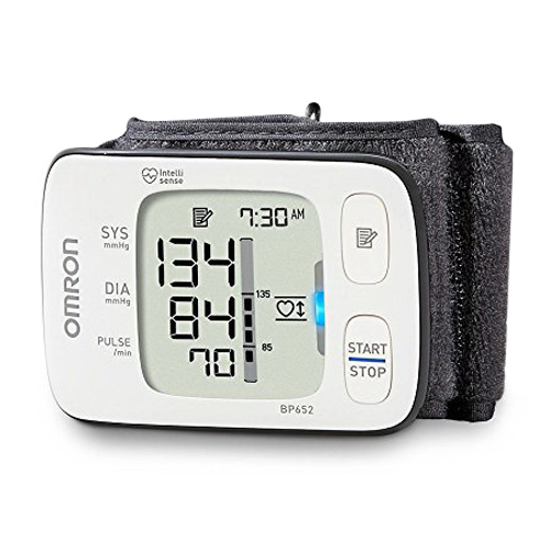 Omron 7 Series Wrist Digital Automatic Blood Pressure Monitor, Model Bp652 -...