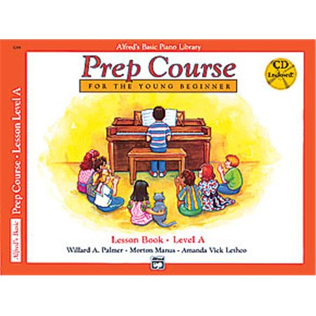Alfred 00-21227 Basic Piano Prep Course- Lesson Book A - Music Book - image 1 of 1