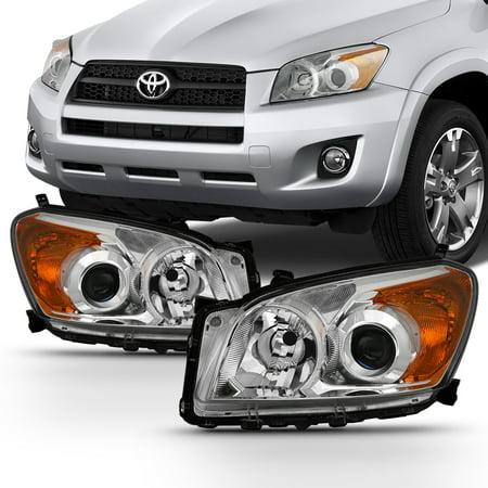 Fits 2009 10 11 2012 Toyota RAV4 Driver+Passenger Side Headlights Headlamps Pair 2000 Toyota Rav4 Headlight