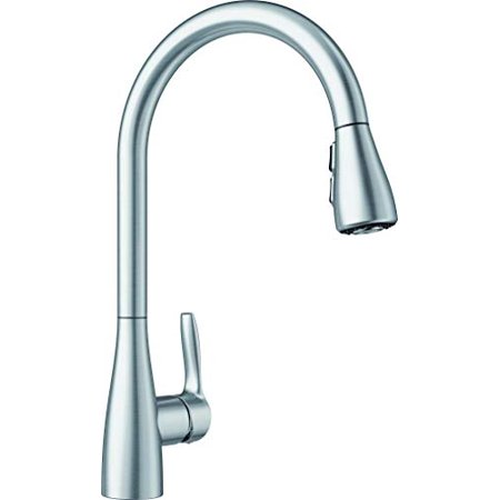 BLANCO Artura 442208 Atura 1.5 GPM Kitchen Faucet with Pulldown Spray in Stainless Steel - image 1 of 1